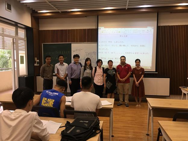 Đại diện Tập đoàn NEC khu vực Châu Á Thái Bình Dương tới thăm và làm việc với Trường Đại học Công nghiệp Hà Nội