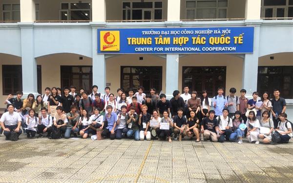 Chương trình giao lưu sinh viên giữa Trường Đại học Công nghiệp Hà Nội và Trường Đại học Ryokoku, Nhật Bản