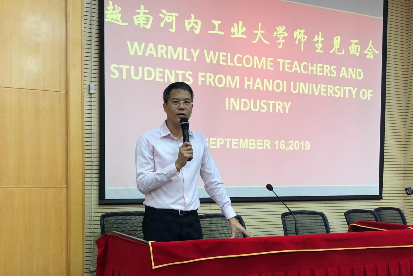 60 Sinh viên Trường Đại học Công nghiệp Hà Nội tham gia chương trình trao đổi sinh viên tại Đại học Khoa học kỹ thuật Quảng Tây - Trung Quốc