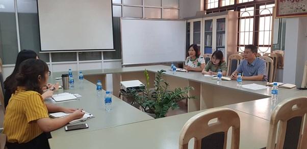 Tiếp đoàn Cơ quan hợp tác quốc tế Hàn quốc (KOICA) Vietnam